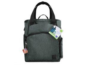 Pelenkázó táska és hátizsák Loveable Ladybug szürke