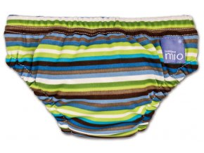 Úszópelenka Bambino Mio Brown Stripe méret S