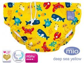 Úszópelenka Bambino Mio Deep Sea Yellow méret S
