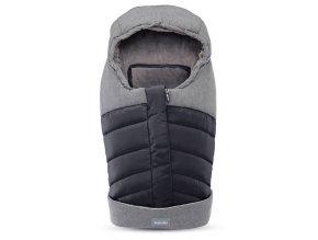 Inglesina Newborn Winter Muff Onyx Black téli újszülött lábzsák
