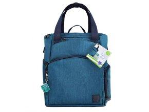 Pelenkázó táska és hátizsák Baby & Beyond kék