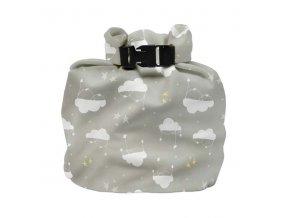 Vízhatlan pelenkatároló táska Cloud Nine