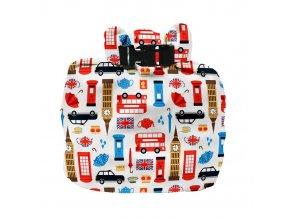 Vízhatlan pelenkatároló táska Great Britain