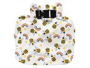 Taška na mokré Vízhatlan pelenkatároló táska Honeybee Hivea plavky Bambinomio je praktická věc WNB HIVE