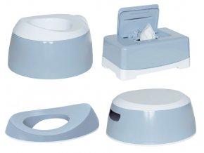 LUMA Toalett tréning szett Celestial Blue