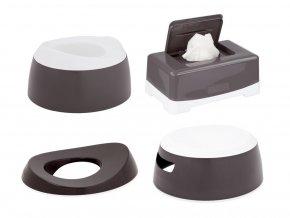 LUMA Toalett tréning szett Dark Grey