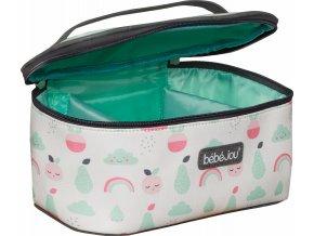 rózsaszín Beautycase kozmetikai táska zárható fedéllel Bébé-Jou Blush Baby