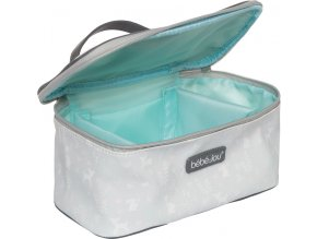 szürke Beautycase kozmetikai táska zárható fedéllel Bébé-Jou Sweet Deer