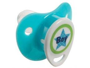 Szilikon cumi 0+M Bébé-Jou Boy kék