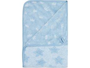 Kék Multifunkcionális pléd Bébé-Jou Fabulous Frosted Blue