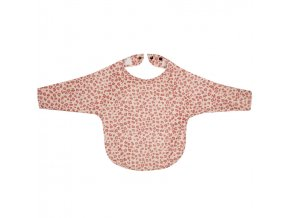 rózsaszín Hosszú ujjú előke Bébé-Jou Leopard Pink