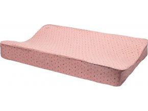 Kétoldalú rózsaszín pelenkázó alátét Bebe jou Fabulous Swan