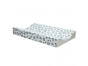 Bébé-Jou Pelenkázó lap Leopard Blue 72x44 cm
