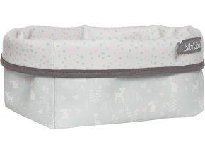 Nagyobb textil tárolókosár 27 × 19 babaápolási kellékre Bébé-Jou Sweet Deer
