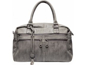 Szürke Pelenkázó táska Brussel antracite
