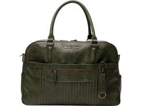 Sötét zöld Pelenkázó táska Lima Quilted dark Green