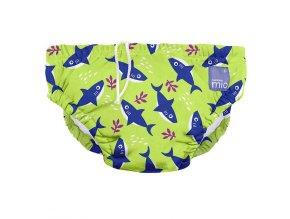 Úszópelenka Bambino Mio Neon Shark méret S