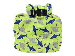 Vízhatlan pelenkatároló táska Bambino Mio Neon