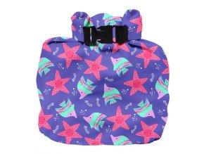 Vízhatlan pelenkatároló táska Violet