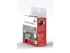 BabyDan Corner Guard brown sarokvédő barna 4 db, BIO