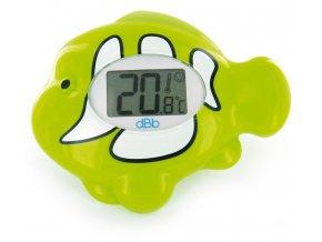 dBb Elektromos hal alakú vízhőmérő zöld