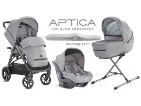 Inglesina Aptica 4in1 2020 Darwin Silk Grey