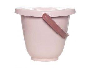Luma Pelenkatároló vödör fedéllel - Blossom Pink