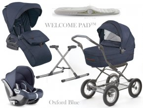 Inglesina Quad Cab 4 in 1 Oxford Blue szett Comfort Bike vázzal