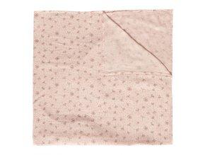 Muszlin pelenka 110x110 cm Fabulous Wish Pink