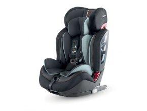 Autósülés 9-36 kg Inglesina Gemino I-FIX 2020 1/2/3 BLACK fekete