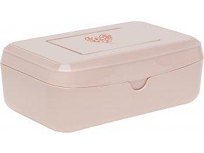 Törlőkendő doboz Bébé-Jou Leopard Pink