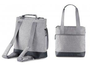 Inglesina Aptica Back bag táska/hátizsák - Silk Grey