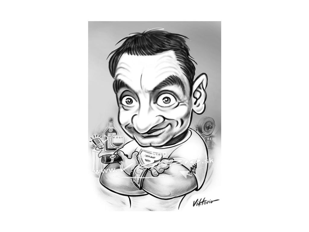 viktorio karikaturomat Boss