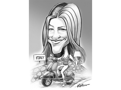 viktorio karikaturomat VESPA