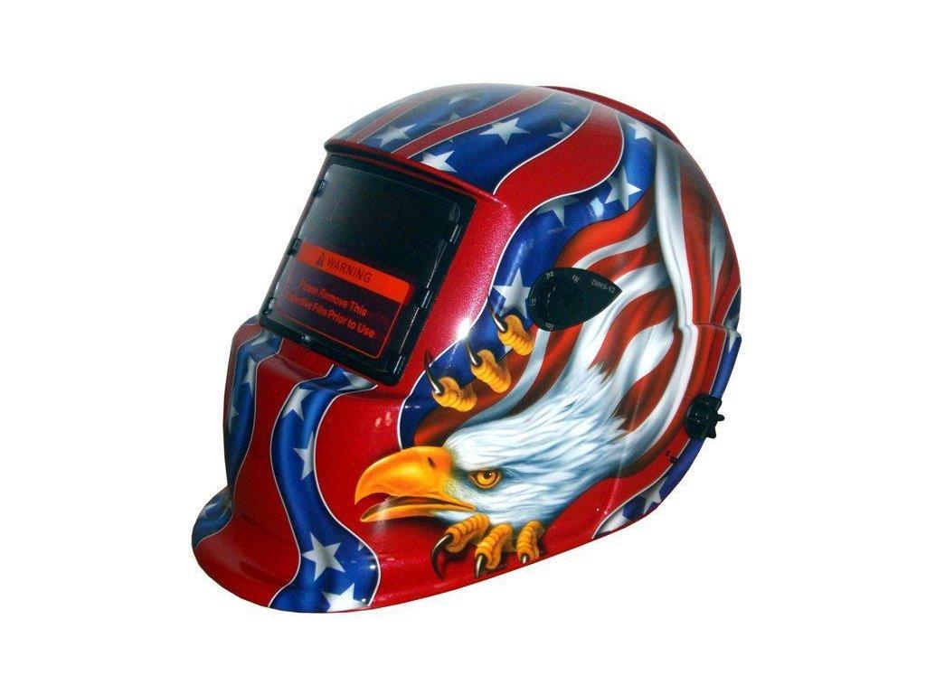 Kukla Amerika Červená