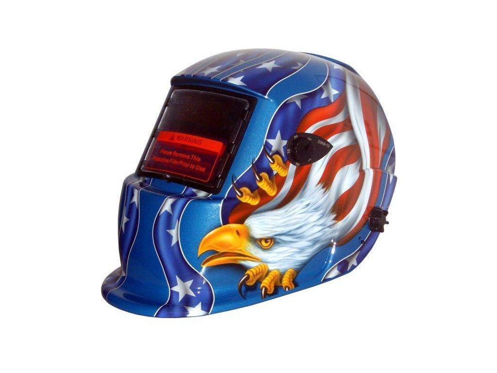 Kukla Amerika Modrá