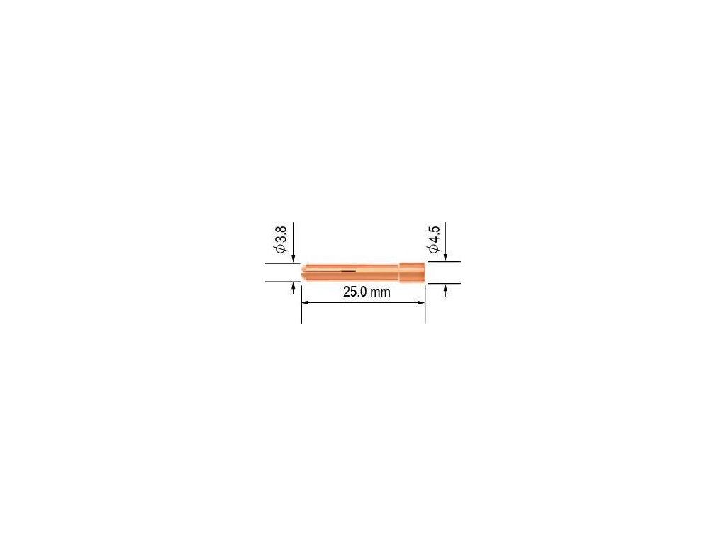 Kleštinka TIG 9/20 - 1,6 mm