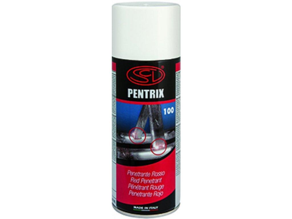 Penetrační sprej - barva červená (penetrační barva)  Defektoskopický sprej