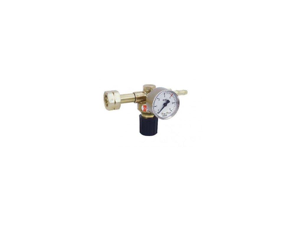 Redukční ventil PROPAN BUTAN s manometrem  Redukční ventil PB