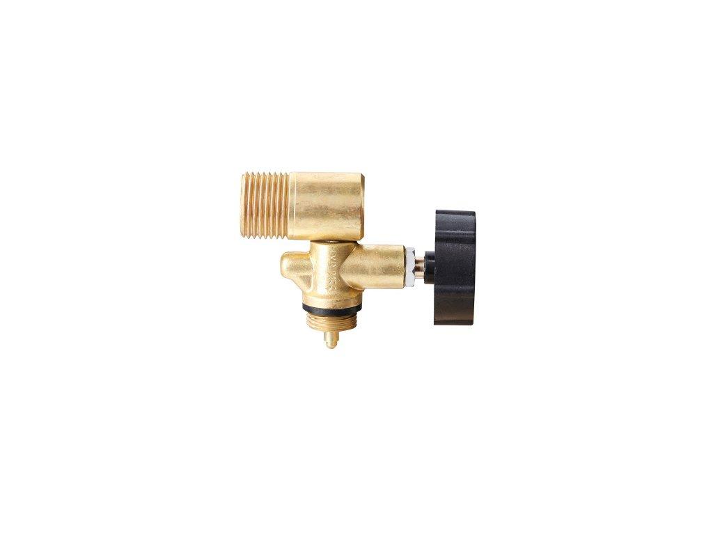 Jednocestný ventil s výstupem do boku W 21,8L  Ventil PB