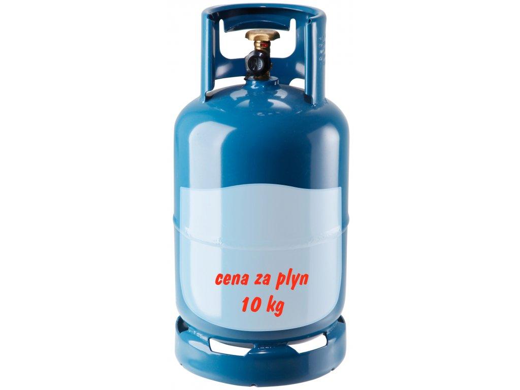 Tlaková lahev 10 kg - REPASOVANÁ  Láhev propan butan 10 kg