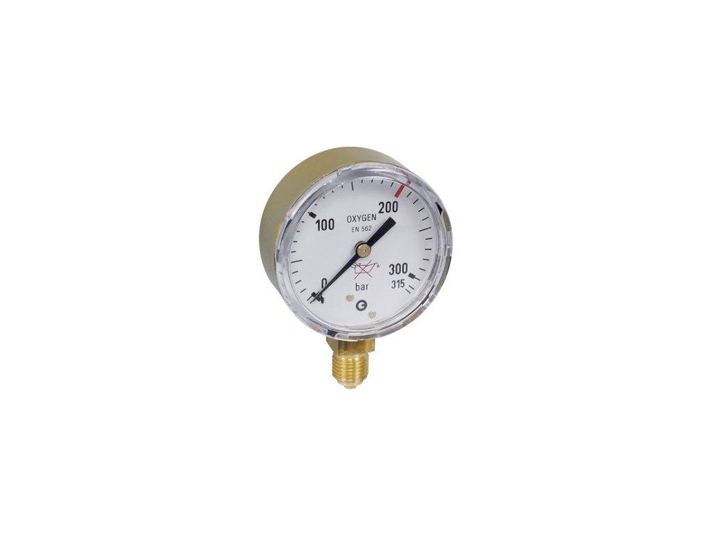 Manometr AR/CO2 pr. 50 mm - VSTUP  Manometr AR/CO2 vstup