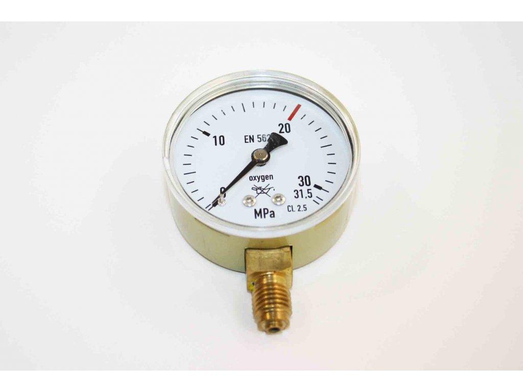 Manometr AR/CO2 pr. 50 mm - VÝSTUP  Manometr AR/CO2 výstup