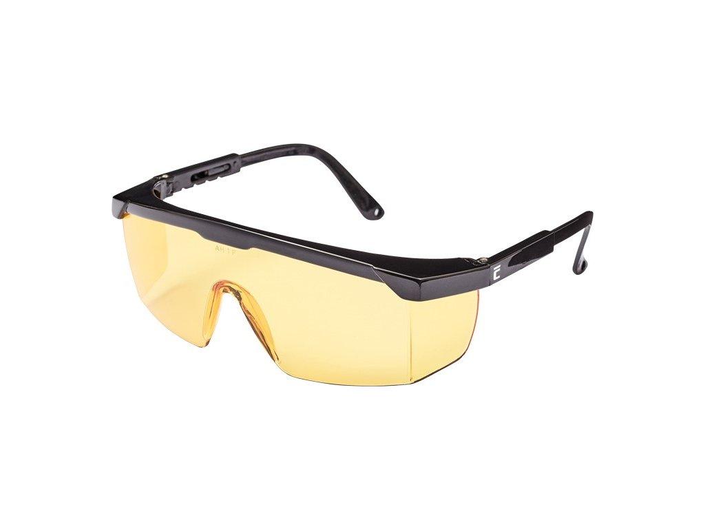 Ochranné brýle NASSAU - žluté  Brýle NASSAU - žluté