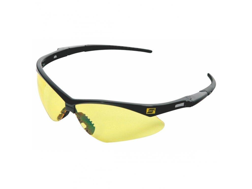Ochranné brýle ESAB ORIGO - jantarové  Brýle Origo žluté