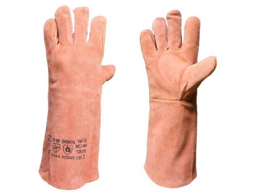 WELD MAX AB svarecske rukavice velikost 12 foto 1