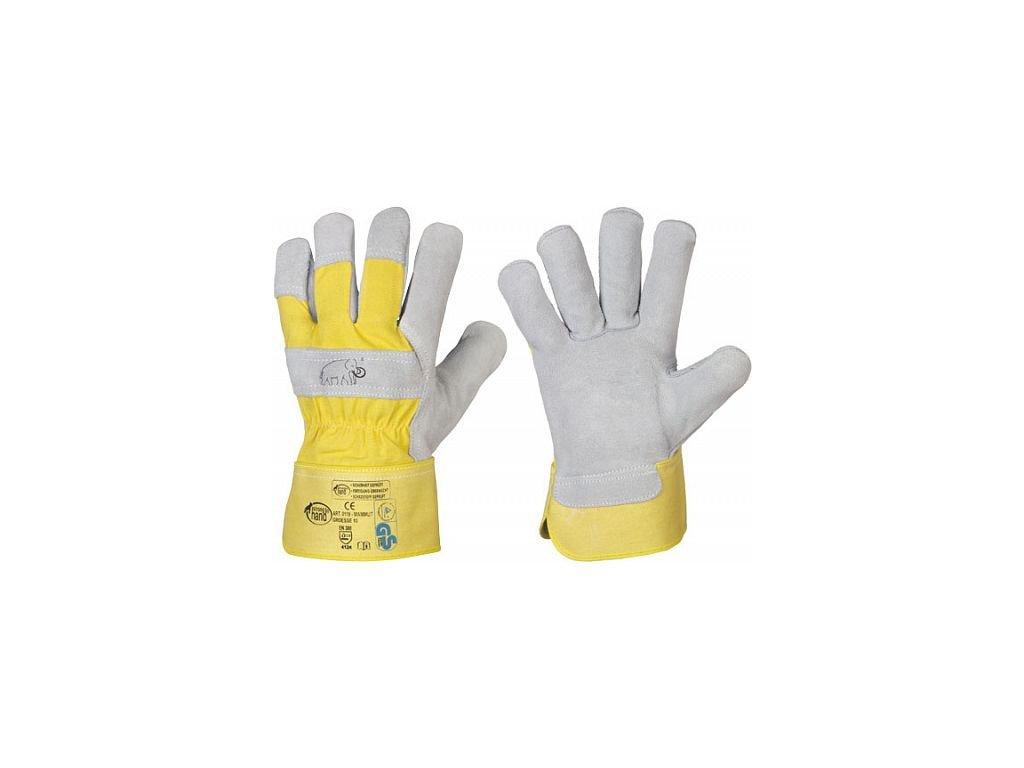 Pracovní rukavice MAMUT - vel. 12