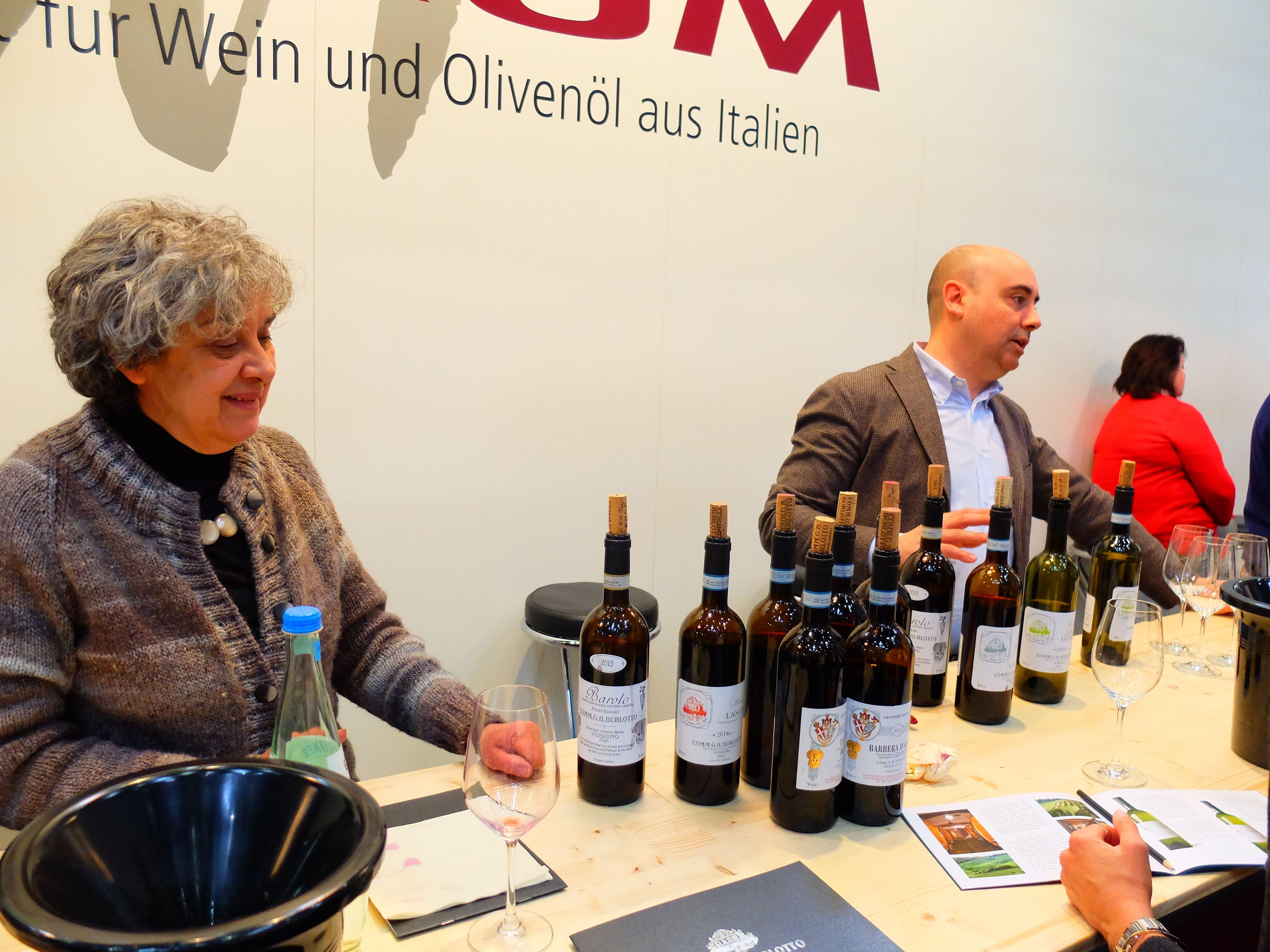 SLavné vinařství Burlotto - Piemont