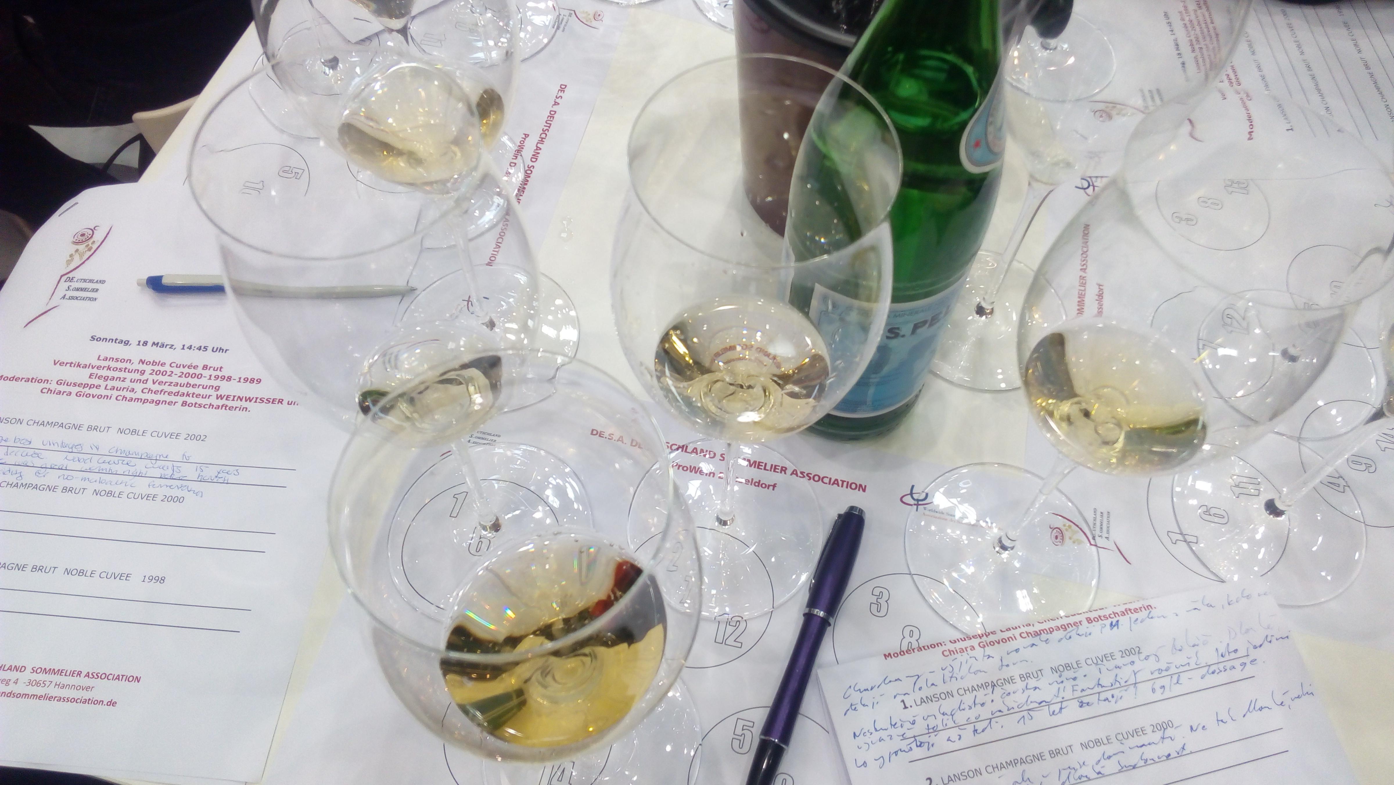 Champagne Lanson Noble Cuvée Brut 1989