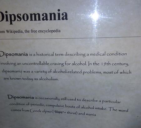 dypsomania